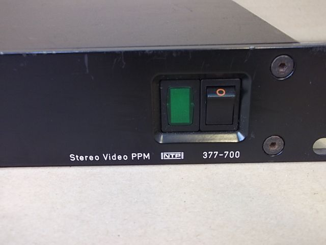 Shop For Cheap Ntp 377-700 A Consumer Electronics Stereo Video Ppm