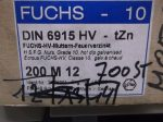 M12 hatlapú, nagyfeszültségű HV anya, fekete (natúr), 50 Ft/db, DIN6915-10, Fuchs