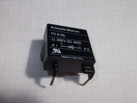 Dióda modul mágneskapcsolóhoz, 250VDC max, Klöckner Moeller FD B DIL Suppressor diode, DIL00M, DIL00AM, DIL0M, DIL0AM, DIL1AM, DIL1M, DIL2AM, DIL2M