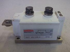 Tirisztor modul, 1200V 270A, SEMIKRON SKKT 161/12D-2
