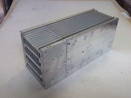 Hűtőborda, alumínium, 141x127x336mm, 17000 cm²