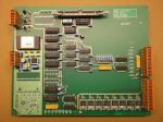 Graseby Best D30/500 mérleghez Dual I/O elosztó modul, B1126 ISS A, A0389, PCB, ADC71JG microcontroller