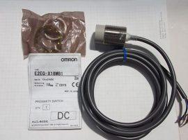 Induktív közelítés kapcsoló, érz. táv. 18mm, 12-24VDC, M30x1,5, pnp, OMRON E2EG-X18MB1