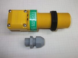 Kapacitív közelítés kapcsoló, 10-15mm, 10-65VDC, M30x1,5, PNP, TURCK BC10-P30SR-VP4X2, M2505000