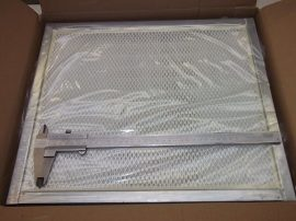 Szűrő, HEPA filter, 434x370x43 mm, Airidus HTX-300, TX-300-hoz
