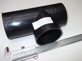 Idom, T-idom elszívócső rendszerhez, ESD, 75mm, Geberit
