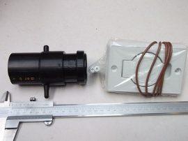 Fali /asztali aljzat flexibilis elszívócsőhöz, ESD-s, 50mm, Bofa
