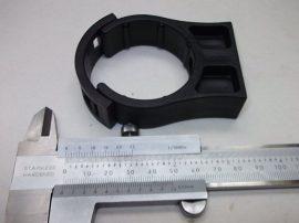 Rögzítőbilincs, Cobra Clip, műanyag, 50mm-es csőhöz