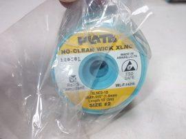 Rézharisnya, kiforrasztó szalag, 1,4mm/3m, Plato XLNC-2-10
