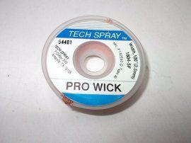 Rézharisnya, kiforrasztó szalag, TechSpray Pro Wick 1804-5F, 2,5mm/1,5m