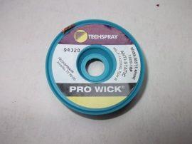 Rézharisnya, kiforrasztó szalag, antisztatikus, TechSpray Pro Wick 1809-10F, 1,4mm/3m