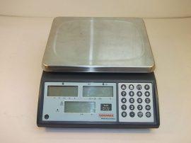 Mérleg, digitális, darabszámlálós, precíziós mérleg, 3 Kg /0,1g Soehnle 9220, tápegység nélkül!