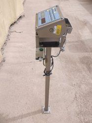 Dini Argeo 3590EXT, Precíziós élelimszeripari mérleg, HBM PW6CC3MR típusú mérőbélyeggel, saválló anyagból, 3 kg méréshatárral, IP68