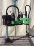 Ipari robot, Bosch Turbo Scara SR600, vezérlők nélkül, Mavilor Motors M0300, M0200, Bautz E 588 MG, ROD 426E.004 1080,