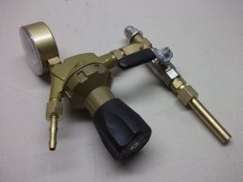 Reduktor, 30bar, Argonhoz, E4DF, gasline, N:0-32l/perc, ISO5171, HP