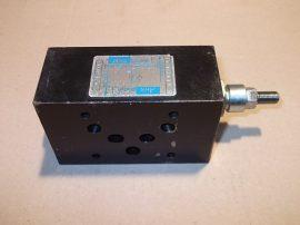 Hidraulikus fojtó visszacsapó szelep, áramlásszabályozó, CETOP5, használt, Abex Denison SFT-02-542-0-A1, SFT025420A1, 026-20543
