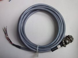 Adatkábel 1 csatlakozóval, 4m, 6 eres, Amphenol MS3106A16S-1S