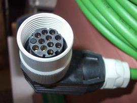 Adatkábel 2 csatlakozóval, 20m, 10 eres (3x0,5 mm2, 7x0,14 mm2 + árnyékolás), Bosch Servodyn 1070-903-499,