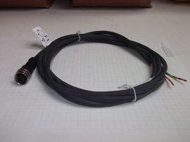 Szenzor kábel, 2m, 3 eres, 3pin M12x1 csatlakozó, XZC-P1865L2