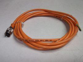 Szenzorkábel 1 csatlakozóval, 3m, 3 eres, M12x1 3 pin, Lumberg BKS-S 27-03 H0304