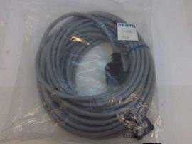 Kábel, csatlakozókábel mágnestekercshez kocka stekkerrel, LED, 10m, 3 eres, Festo 193456