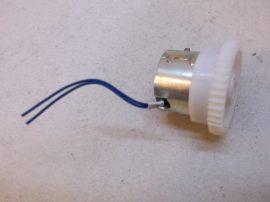 Kuplung, elektromos tengelykapcsoló, 24 VDC, 6 mm-es tenegelyre, 36 mm-es fogaskerék, Ogura Clutch Co. LTD., MIC 2.5NEW-12