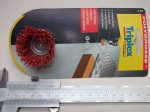 Csapos fazékkefe, fazékkorong, piros, 45mm, Triplex 779
