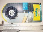 Csapos fazékkefe, fazékkorong, kék, 45mm, Triplex 785