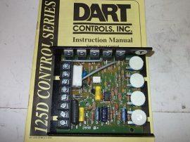Motorvezérlő DC speed control DART 125D-12C