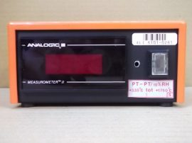 Asztali hőmérő műszer szonda nélkül, S Pt-Pt, +335°C...+1750°C, 220VAC, Analogic Measurometer II