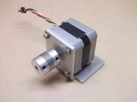 Astrosyn Y129 Léptetőmotor, 1,8fok, 5mm tengely + tengelykapcsoló, 586-389