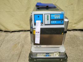 Sterilizáló, autokláv, gőz sterilizáló, kapacitás: 25L, 230VAC 3,2kW, H+P Labortechnik AG Varioklav Medline 25TC, NSN 6530-12-352-798, Német katonai tartalék készletből. Dampfsterilisator,