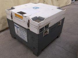Hőszigetelt konténer, thermoláda, halszállító tartály, 120x120x98cm, 600L, ATP Olivo IR