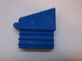 Csúszásgátló talp, kék lábdugó, Solide 50, álványokhoz, létrákhoz, 18x48 mm-es belső méretű profilba