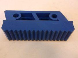 Csúszásgátló talp, kék lábdugó, Solide 105, álványokhoz, létrákhoz, 25x100 mm-es belső méretű profilba