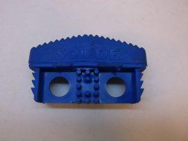 Csúszásgátló talp, kék lábdugó, Solide 080, álványokhoz, létrákhoz, 22x71 mm-es belső méretű profilba