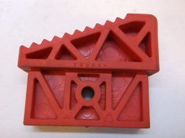 Csúszásgátló talp, piros lábdugó, álványokhoz, létrákhoz, 35x77 mm-es belső méretű profilba, Altrex Taurus 720054