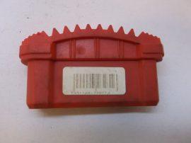 Csúszásgátló talp, piros lábdugó, álványokhoz, létrákhoz, 20x72 mm-es belső méretű profilba (80), Altrex, 720110