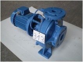Centrifugál szivattyú, 0,75kW, 6,12 m3/óra, 12,5m, 380/220V, Digép DPECIN 50-32-200