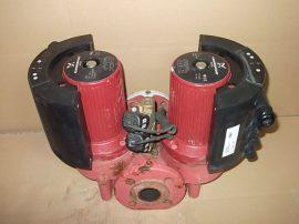 Fűtési iker keringető szivattyú áramlásmérővel, 2x32-355W, 1~ 230V 50Hz, DN40 PN6/10, Grundfos Magna UPE 50-60 Model D (2db)