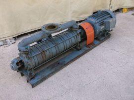 2x3 lépcsős szivattyú, 30m3/h, 60m, 3~ 380VAC 11kW 1440rpm, Evig VZ160M4 motor, DKK613 szivattyú