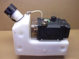 Automatikus olajszint adagoló, szabályozó, Oilmaster Groeneveld,  F173087, 24 V, 6 literes tartály