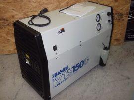 Bambi VTS150D Tisztatéri, laboratóriumi olajmentes kompresszor, beépített légszárítóval. Hangszigetelt, halk üzemű, 230V 1,1kW, 55 dB(A), 8 bar,