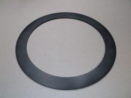 Gumi tömítő gyűrű, NBR, fekete, 220x278x3mm, -20..+90°C, Eriks Superba, karimás csatlakozásokhoz