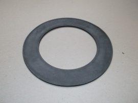 Gumi tömítő gyűrű, NBR, fekete, 114x174x3mm, -20..+90°C, Eriks Ring RX Superba 174x114x3, 202020784, 10500100, 6242454, karimás csatlakozásokhoz