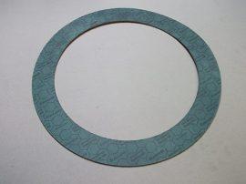 Hőálló NBR-aramid tömítő gyűrű, 250x325x2mm, max 75°C, 100 bar, olaj, üzemanyag, Frenzelit Novapress Flexible/815 DVGW-HTB, karimás csatlakozásokhoz