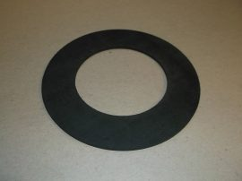 Gumi tömítő gyűrű, NBR, fekete, 80x134x3mm, -20..+90°C, Eriks Superba, karimás csatlakozásokhoz