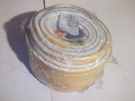 Hőálló üvegszálas tömítőzsinór, öntapadós, téglalap profil, 20x10mm, 600 Ft/m áron!