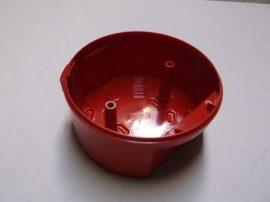 Beépítő doboz, piros, LPBW First Fix sziréna csatlakozóaljzathoz, Notifier AVAX SDBR