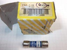Biztosíték 10,3x38 mm, 0,5A 250VAC, Bussmann Fusetron FNA-1/2, H31 495